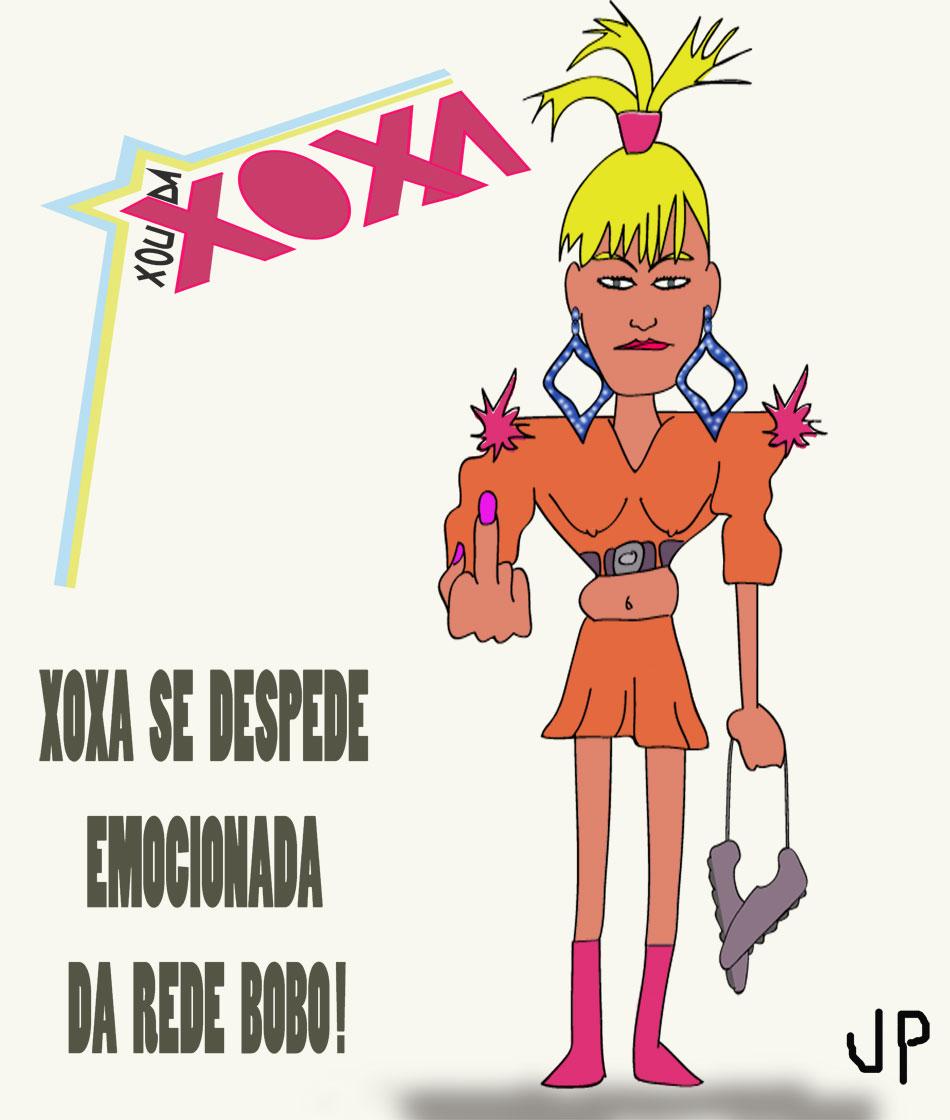 Xuxa pendura as chuteiras e se despede da RedeGlobo