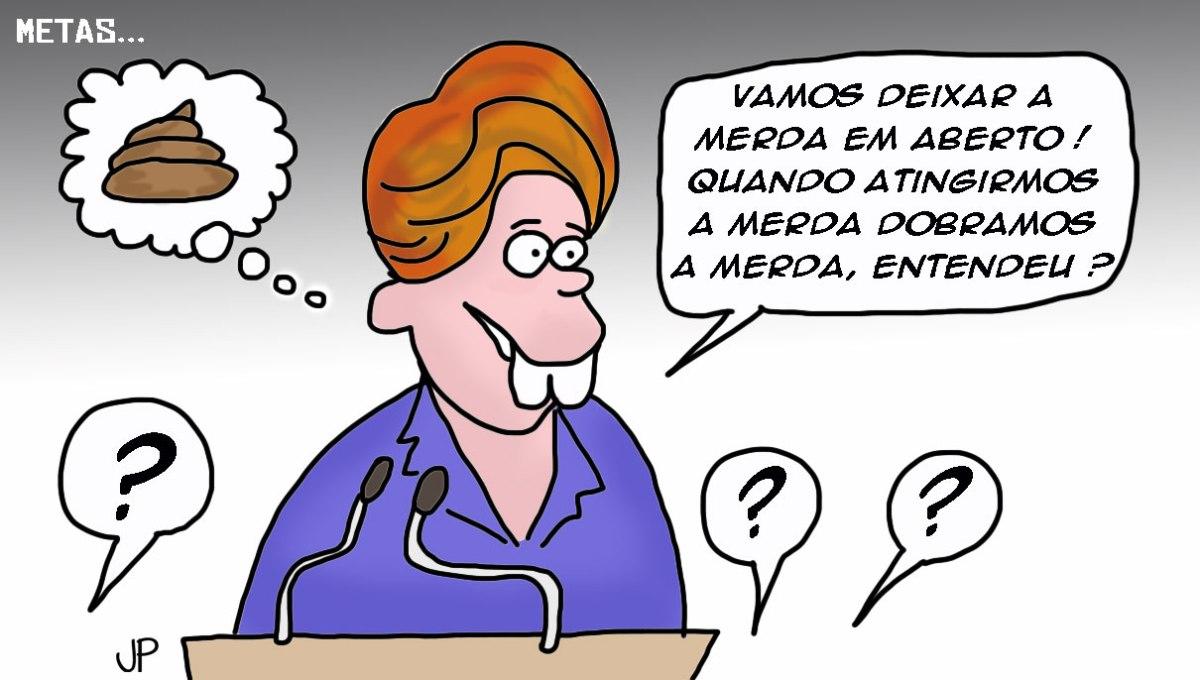 Dilma atinge suameta