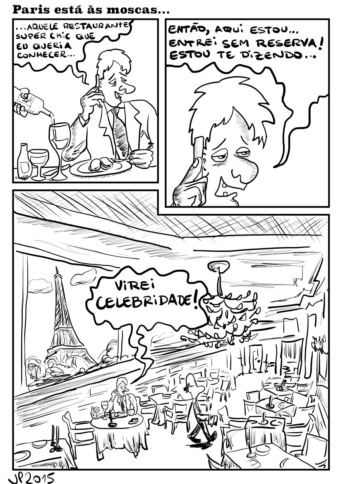 Paris está àsmoscas