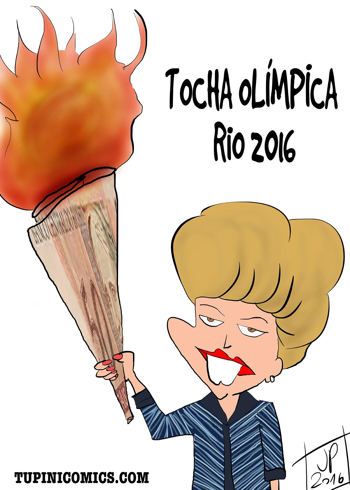 Tocha Olímpica – Rio2016