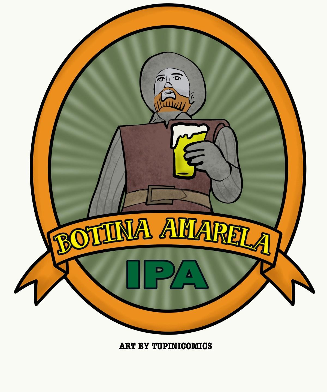 Logo Botina Amarela Cerveja BorbaGato