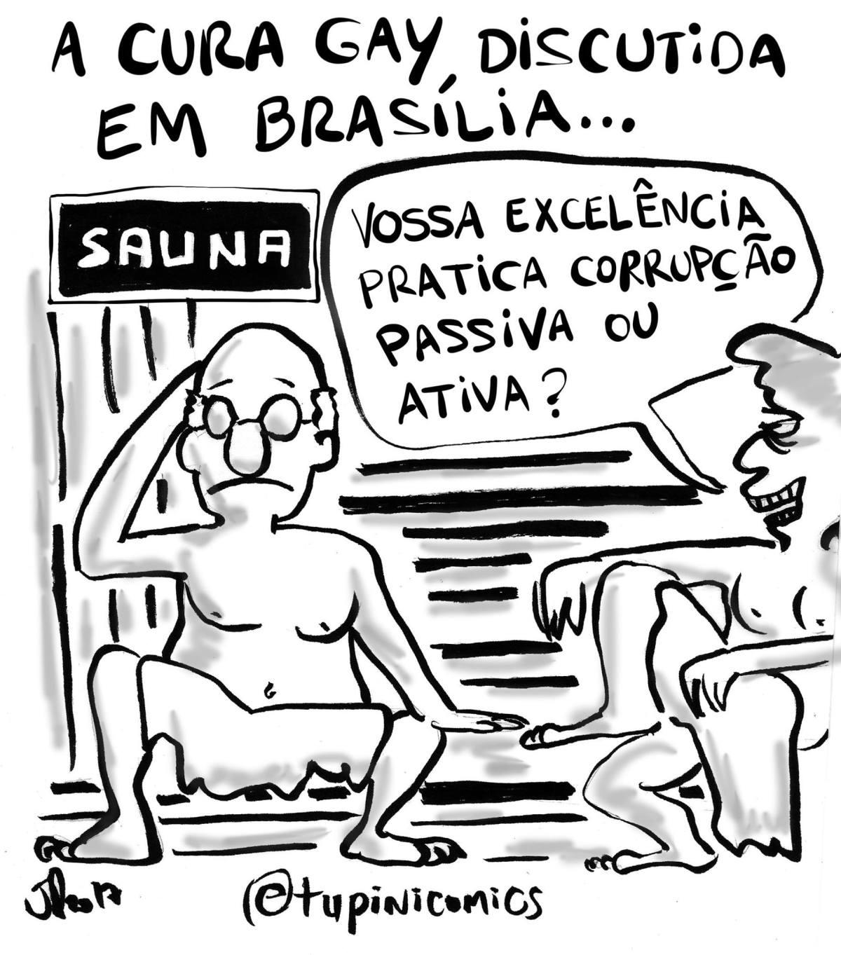 A cura gay discutida emBrasília
