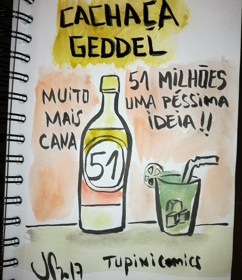 Cachaça  Geddel