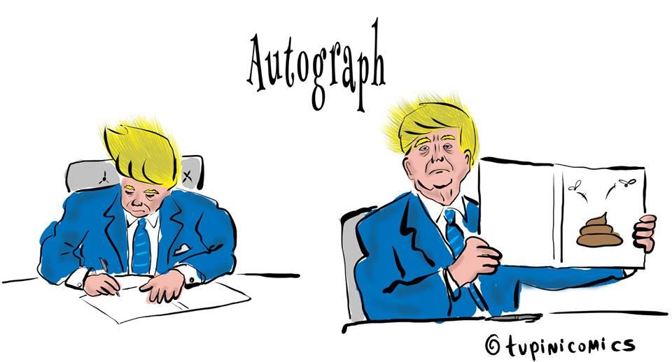 Trump Autograph